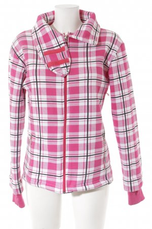 Bench Between-Seasons Jacket check pattern athletic style