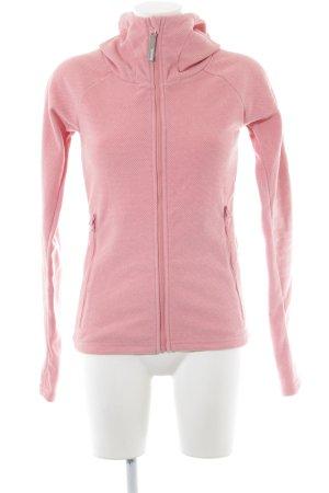 Bench Übergangsjacke pink Punktemuster Casual-Look