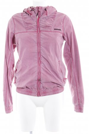 Bench Übergangsjacke rosa Casual-Look