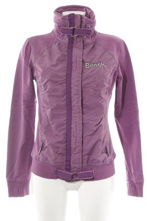 Bench Übergangsjacke violett sportlicher Stil