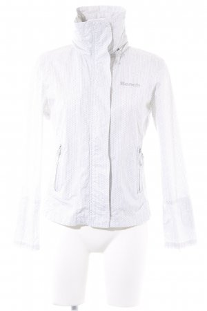 Bench Between-Seasons Jacket white-light grey abstract pattern casual look