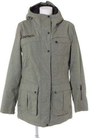 Bench Manteau mi-saison gris vert style athlétique