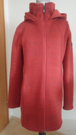 BENCH Warme Longjacke Fleecestrick Mantel L