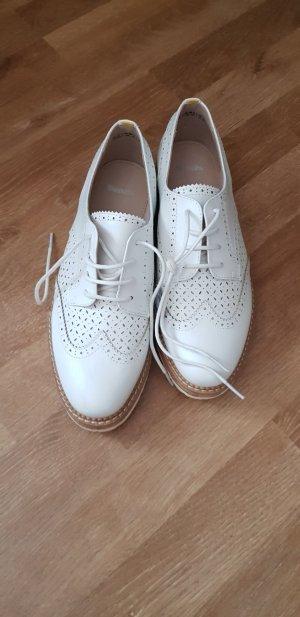 bench weiße Schuhe mit Kork Gr. 39 fein
