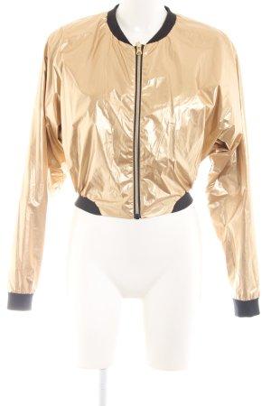 Bench Chaqueta reversible color oro estilo extravagante