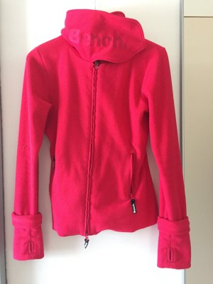 Bench Gilet polaire rouge fluo