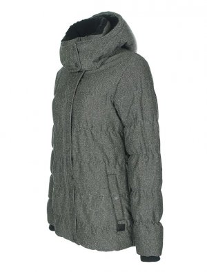 BENCH Winter Jacke Mantel Skijacke Steppjacke  – XS