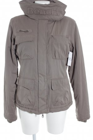 Bench Winterjacke beige Casual-Look