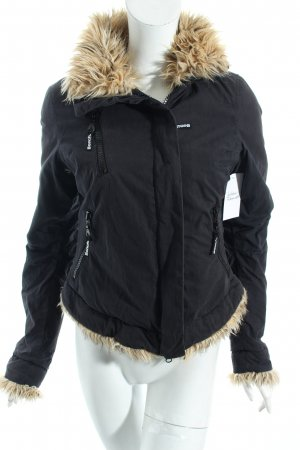 Bench Winterjacke dunkelgrau Casual-Look