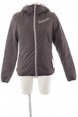 Bench Winterjacke grauviolett Casual-Look