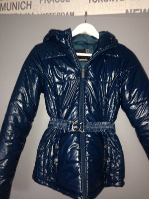 Bench Winterjacke Lack petrolblau