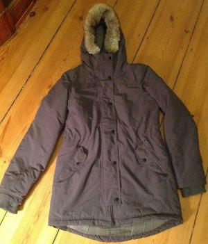 Bench Abrigo con capucha gris antracita