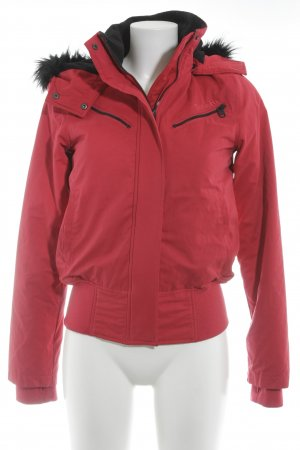 Bench Winter Jacket red-black athletic style