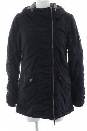 Bench Winter Jacket black simple style