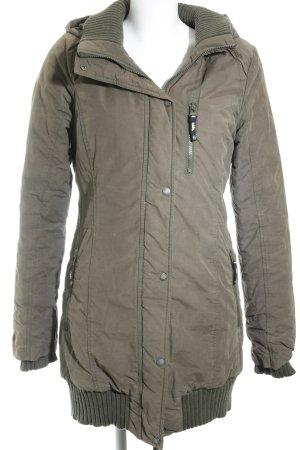 Bench Winter Coat khaki athletic style