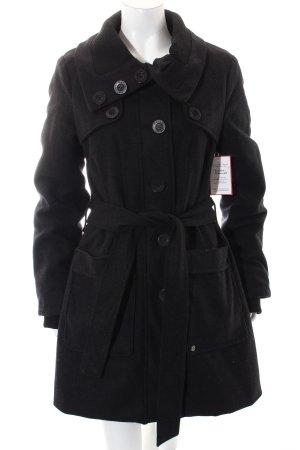 Bench Wintermantel schwarz Street-Fashion-Look