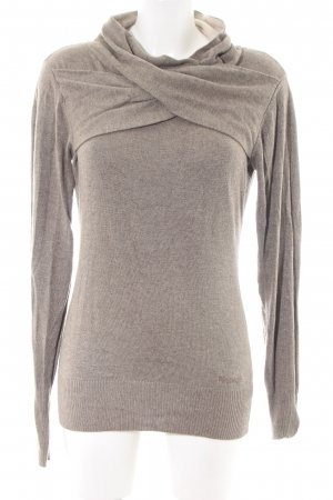 Bench Wollpullover braun Casual-Look