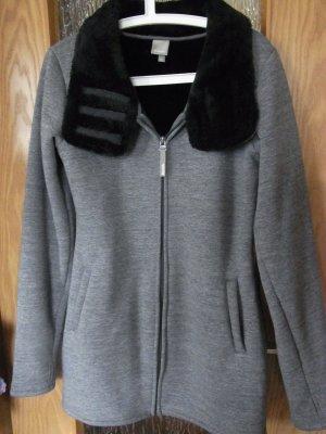 Benchjacke, grau, Gr. XL(fällt kleiner aus)