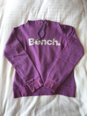 Bench Jersey con capucha violeta-color plata