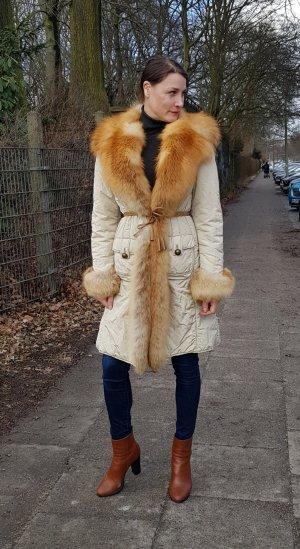 Benedetta Novi Pelt Coat multicolored fur