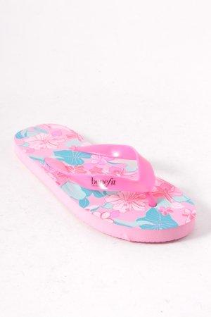 Benefit Flip Flop Sandalen florales Muster Beach-Look