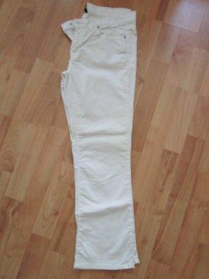 Benetton Pantalon 7/8 blanc