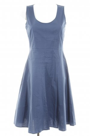 Benetton A-Linien Kleid blau-dunkelblau Casual-Look