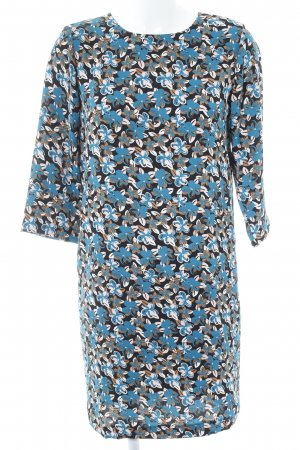 Benetton A Linien Kleid florales Muster Casual Look