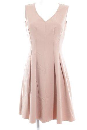 Benetton A-lijn jurk nude elegant