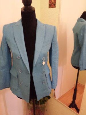 *Benetton* Babyblauer Blazer, Größe 40