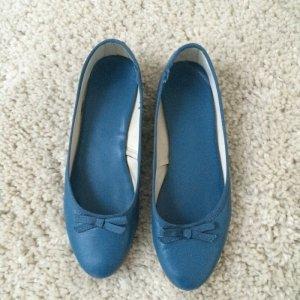 Benetton Ballerinas Gr 37 blau
