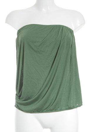 Benetton Bandeautop hellgrün schlichter Stil