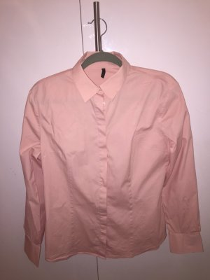 Benetton Shirt Blouse pink cotton