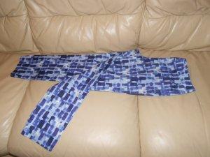 Benetton- blau gemusterte Sommerhose Gr. S