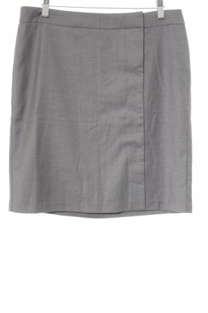 Benetton Bleistiftrock grau meliert Business-Look