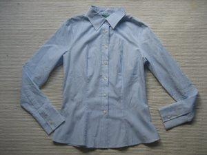 Benetton Bluse, Größe s, hellblau, neu buero hemd