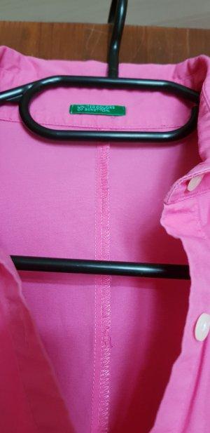 Benetton bluse pink gr 34