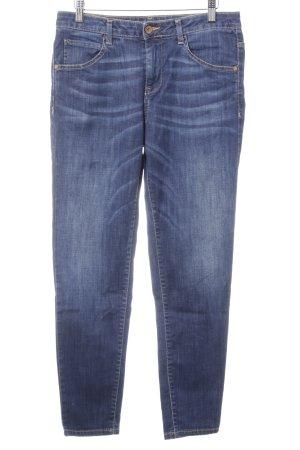 Benetton Jeans boyfriend blu scuro-arancione chiaro stile boyfriend
