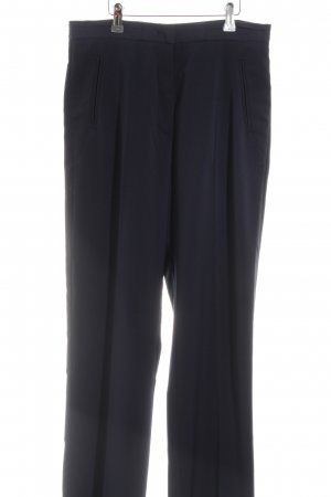 Benetton Pleated Trousers black business style