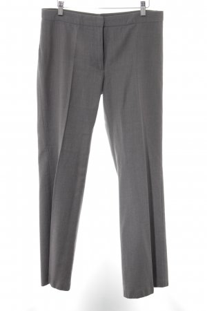 Benetton Pantalon à pinces gris style d'affaires