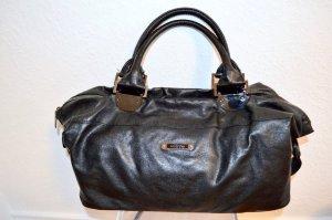 Benetton Business Tasche Black Silver Neuwertig