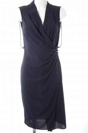 Benetton Chiffonkleid dunkelblau Elegant