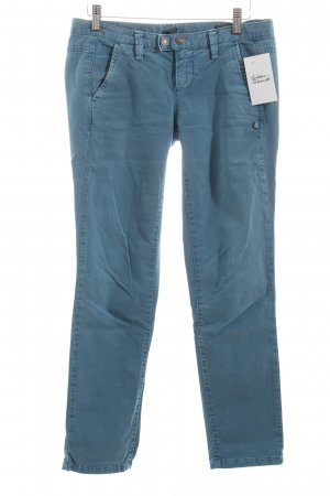 Benetton Chinohose graublau Casual-Look