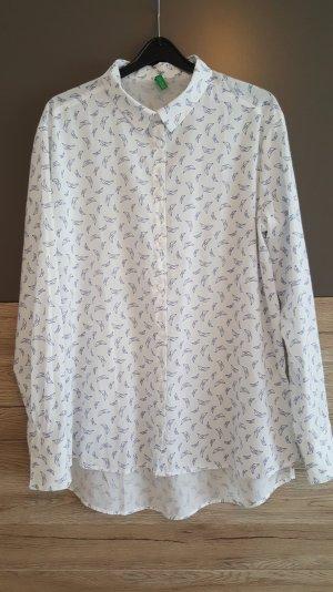 Benetton Damen Hemd Weiß
