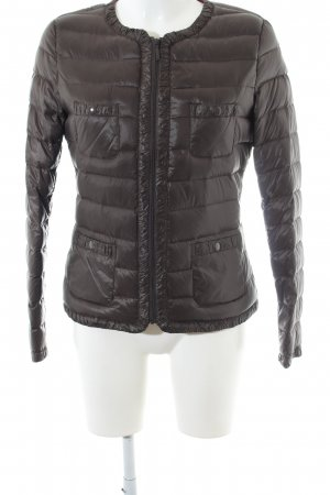 Benetton Down Jacket brown quilting pattern casual look
