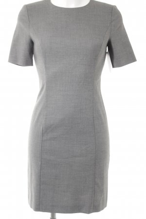 Benetton Etuikleid grau meliert Business-Look
