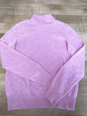 Benetton Gebreide trui roze Gemengd weefsel