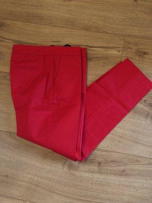 Benetton Pantalone a pieghe rosso