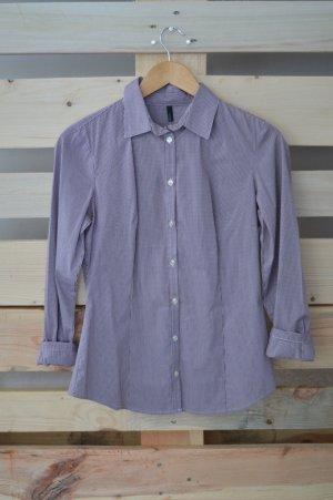 Benetton Hemd lila Größe S