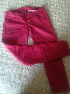 Benetton Jeans Trousers bright red